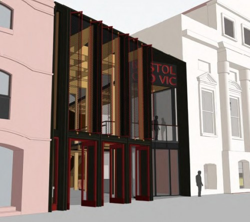 Revised design for the King Street frontage, as now approved