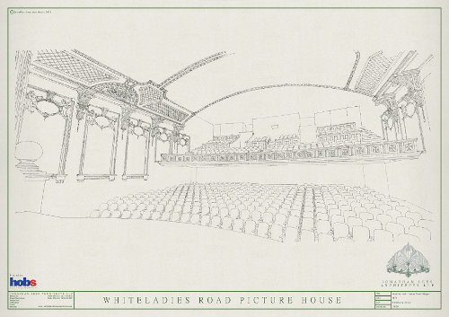 Interior view of the new proposal