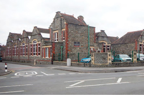 View of the existing school  (photo courtesy of Bristol247.com)